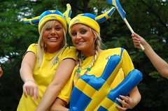 World Cup Fans from Sweden in Berlin (city vhs wm) Tags: world city blue girls party berlin cup public yellow festival ball germany fun deutschland fan football foto sweden fifa schweden joy nation 2006 swedish weltmeisterschaft wm gelb foosball alemania sverige worldcup blau fest futbol celebrate spectator mitte viewing stimmung vhs jubel volkshochschule feiern fuball freude fanfest wm2006 coupedumonde zuschauer aficionado publicviewing nationen germany2006 fifa2006 fotokurs fifawm2006 fanparty copadelmundo 2006fifaworldcupgermany fanmeile fanmile top20worldcup fotokursus