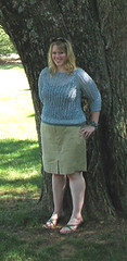 Front of Carla sweater