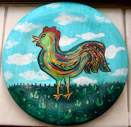 Rooster on a Plate