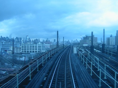 Back of the 7 Train