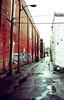 32740029 (dmongeau) Tags: trash graffiti xprocess montréal sale crossprocess dirty ruelle graff mongo top20xpro