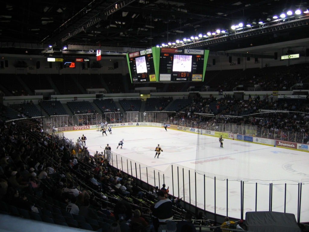 Hockey - Ballparks, Stadiums & Arenas... Oh My!