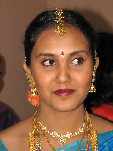 south indian bridal makeup. The Bride Smiles, originally
