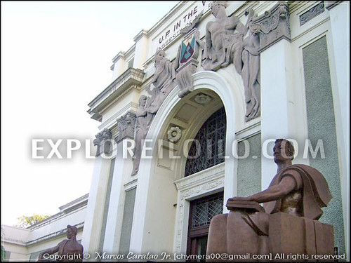 iloilo heritage building UPV library Iloilo City Municipal Hall