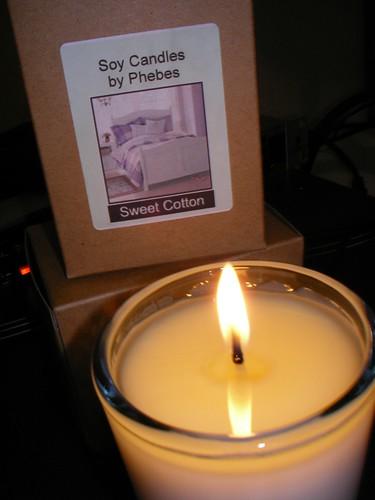Soy Candle photo courtesy of John Ong