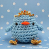 Amigurumi Chickie Bird with crown