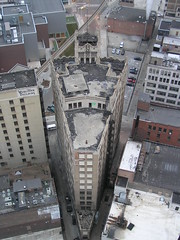 Metropolitan Building Shapes Up (SNWEB.ORG Photography, LLC.) Tags: above city roof sky urban david building tower abandoned rooftop skyline architecture mi skyscraper dark paul office downtown view metro decay michigan interior air urbandecay gothic detroit perspective aerial fromabove gone historic explore urbanexploration trespass mich historical eaton inside column bld higgins neogothic shape exploration 1928 metropolitan brod wedge offices scraper weston bldg trespassing theodore ue abandonedbuilding roofview urbex urbanblight broderick downtowndetroit ellington eatonbuilding waynecounty brodericktower metropolitanbuilding eatontower davidbrodericktower broderickbuilding witherell mikehiggins davidbroderick michaelhiggins theodoreeatontower metropolitanbldg westonellington westonandellington witherellcorp witherellcorporation broderickbldg theodoreeation officebuiling 10witherell whaletower wedgeshape jewlersbuilding