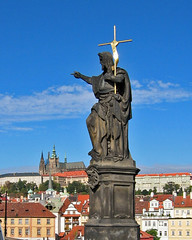 Charles Bridge Statue - by Agent Davidov