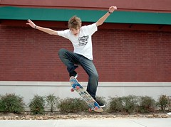 Wild Hair Skateboarder (Jeff Clow) Tags: boy texas purple skateboarding action ollie skateboard skater dfw startwearingpurple yahooadcampaign