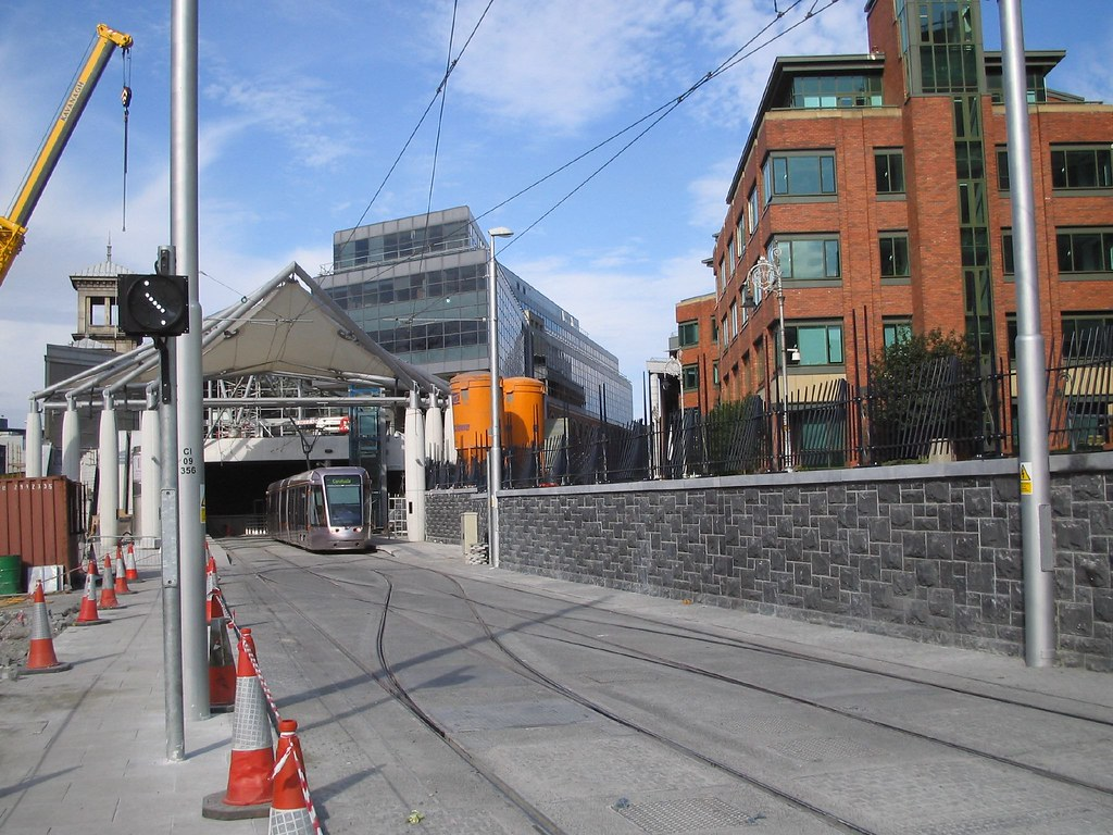 LUAS AT TERMINUS