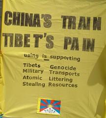 Tibet genocide China