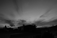 Long Day's Journey into the Night (Marchnwe) Tags: roof sky white house black türkiye istanbul İstanbul