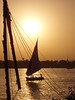 Nile sunset (low light) Tags: sunset sailboat egypt nile egypte nijl 5hits