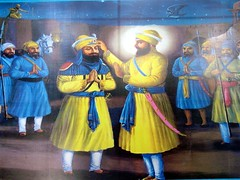 Painting of Guru Gobind Singh Ji (Manny Pabla) Tags: travel sky people india art heritage architecture painting religious temple shrine asia symbol indian muslim faith prayer religion culture icon historic holy desi temples sacred marble turban sikh sahib gurdwara punjab hindu dharma gurudwara pilgrim punjabi guru singh khalsa shaheed beliefs kaur martyrdom sikhi mughals sirhind sanctity sikhtemple fatehgarh panjab saini khatri pabla panth gobind sikhdharma rupnagar ramgarhia gurdwaras ropar chamkaur machhiwara gurudwaras lubana gurugobindsingh gurughar sikhart babaajitsingh sikhartpainting sikhpainting panthkhalsa sikhpanth babazorawarsingh babafatehsingh matagujriji nikkianjindanvadhaasaka sahibzadey babajujharsingh sahibzada