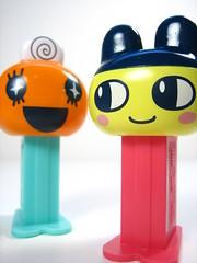 Memetchi & Mametchi (WEBmikey) Tags: pez japan toys tamagotchi