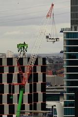 dh0087 (mugley) Tags: construction crane melbourne docklands digitalharbour port1010