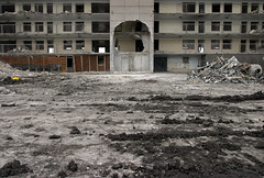 (metroblossom) Tags: usa chicago building project illinois demolition housing roberttaylor