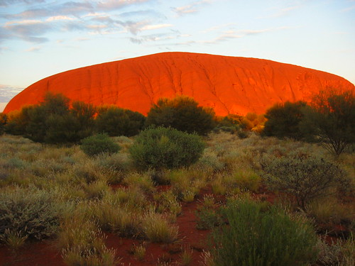 Ayers Rock/Uluru sunrise