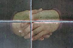 Just Resting (Leo Reynolds) Tags: art canon tile eos 350d iso100 hand 100mm f95 10up3 0004sec salthouse06 salthouseart hpexif grouphandsclaws leol30random 05ev grouptiles 19000th xleol30x xratio3x2x xxx2006xxx