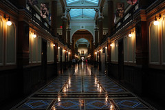Corridor (Fire At Will [Photography]) Tags: fire will photography fw 2016 photo national portrait gallery smithsonian institute washington dc architecture hallway corridor depth light reflect reflection geometric