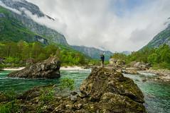 Style study (PixPep) Tags: rauma romsdalen norge norway landscape man pixpep