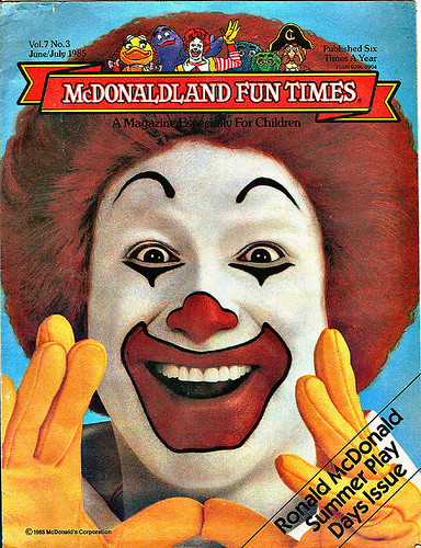 McDonaldland Fun Times -  .. (( June/July 1985  ))