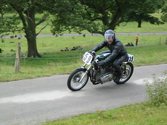 Iain at the Barbon Hill Climb 2005 (Lets Bike It (Howard D Mattinson in Canonbie)) Tags: stock triumph iain stockphoto stockphotography rickman barbon metisse stockfoto hdmattinson howarddmattinson