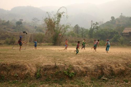Soccer, thai style.
