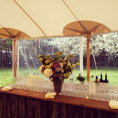 #Hamptons #wedding #rusticbar