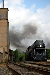 N&W 611 at Marshall (Michael Karlik) Tags: virginia nw norfolk steam western manassas excursion 611