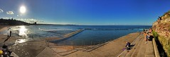 Collaroy beach and ocean pool (NinianLif) Tags: winter seascape beach northernbeaches collaroy oceanpool