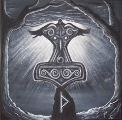 Mjllnir (14) (fiore.auditore) Tags: thor mythology mythologie mjlnir asatru mjllnir