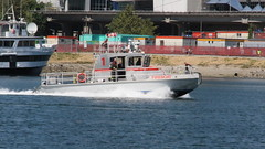 False Creek Sailboat Fire (bcfiretrucks) Tags: world rescue canada water vancouver sailboat marina fire coast boat marine bc smoke flames guard police science jericho department fireboat fd rhib vpd mcbeath vpd98