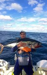 Chris Cassar with some Tuna in Victoria Australia. #fishing #photocontest #Stormline #stormlinegear #tuna #catchoftheday #victoria
