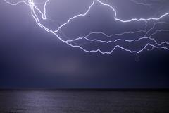 Bright (lightonthewater) Tags: ocean storm gulfofmexico thunderstorm lightning seagrovebeach lightonthewater