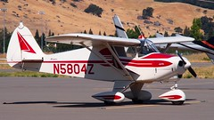 Piper PA-22-108 Club (N5804Z) Short Win 1963 (Jack Snell - Thanks for over 26 Million Views) Tags: tree breakfast club airport vacaville jimmy flight center short legends pancake win piper nut 1963 nuttree caa doolittle 2015 pa22108 20150328 20151024 n5804z