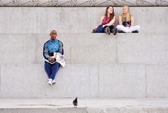 Tiers  [Explored # 375] (jaykay72) Tags: street uk london candid streetphotography trafalgarsquare londonist stphotographia