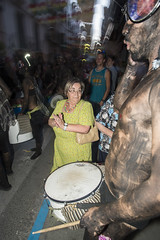 FiestaFlickr.48 (Trev Thompson) Tags: travel carnival people tourism festival spain community funny europe fiesta nightshot adult emotion flash culture location photographic andalucia parade sanjuan nighttime type procession pageant lanjaron maturewoman reveller zoomblur orgiva attributes fiestadesanjuan