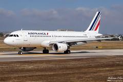 Air France --- Airbus A320 --- F-HBNH (Drinu C) Tags: plane aircraft aviation sony airbus dsc airfrance a320 mla lmml hx100v fhbnh adrianciliaphotography