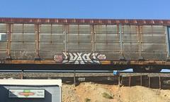 (CONSTRUCTIVE DESTRUCTION) Tags: train graffiti boxcar ba graff piece jase evade