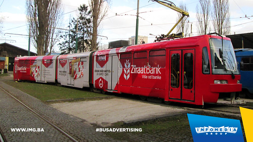 Info Media Group - Ziraat Bank, BUS Outdoor Advertising, Sarajevo 03-2015 (2)