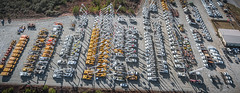 thurday's lineup (k.pat) Tags: auction jj kane auctioneers proxibid villa rica georgia ga rows sell sold line lined up lineup asset altec neuco absolute equipment aerial bucket truck digger forestry live bid bidding online internet drone photo photography pano panorama large format high res hdr fly soar uas dji phantom 4 pilot remote 107 lineman electrical workers dronelife porn ice9