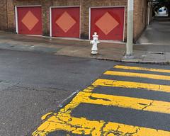 (breakbeatbilly) Tags: noevalley sanfrancisco crosswalk garage art abstract yellow red pink