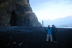 Reynisfjara (fordc63) Tags: iceland travel basalt lava column cave beach blacksand ocean waves sea cliff
