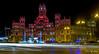 Palacio de Cibeles (F Cifuentes) Tags: spain madrid cibeles old post office nightlights christmas