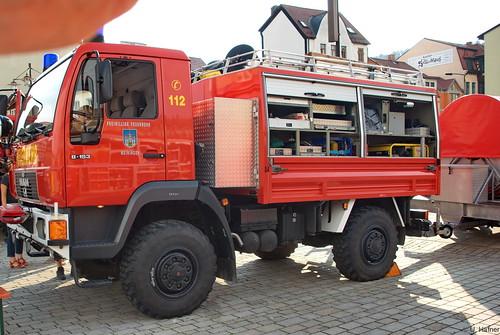 1996 Rüstwagen (RW 1) MAN L22 Freiwillige Feuerwehr Meiningen