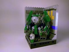 M.K.008 Redux - Mark III (Jay Biquadrate) Tags: mf0 mfz moc microscale mobileframezero mech mecha lego diorama
