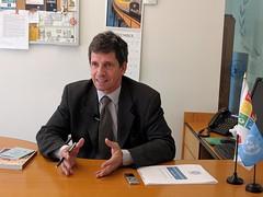 Christopher Gascon, Representante de la OIM en México, 2016 (Centro de Información de las Naciones Unidas para) Tags: christophergascon oim migración entrevista