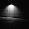 Assembly (DanRSmith) Tags: bw blackandwhite night nightlight nighttimeneopan dark light shadow shadowplay rolleiflex xenotar 35e fujineopanacros100 ilfosol3