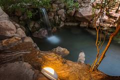 37°C (Luis_Garriga) Tags: water agua terma fiambalá catamarca argentina arroyo stream pool pileta plantas plants light luz